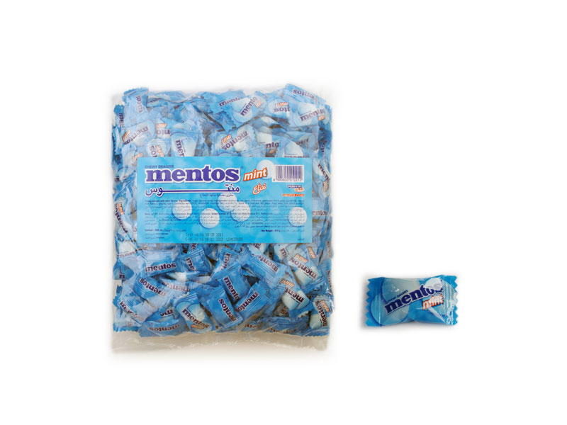 Mentos Mini Mints Mentos Bags Mint